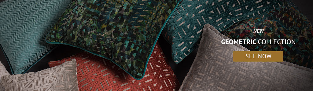 Fabrics: Aldeco Joins Forces With BRABBU To Create The Ultimate Upholstery  Fabrics: Aldeco and BRABBU Create The Ultimate Upholstery at M&O 18 banner geometric