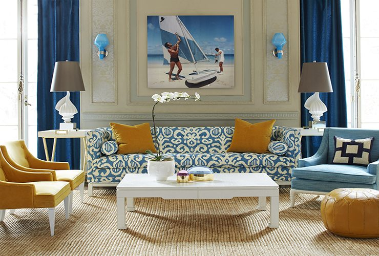 Interior Designer Interior Designer Of The Week: Jonathan Adler LampertCapri 001 JL 740x500