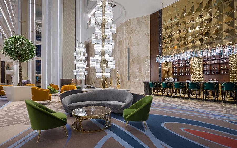 Upholstered Furniture - The Stunning Hilton Astana Hotel Design upholstered furniture Upholstered Furniture: The Stunning Hilton Astana Hotel Design Upholstered Furniture The Stunning Hilton Astana Hotel Design 10