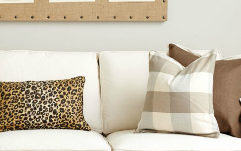 Upholstery Fabrics Inspiration: How to Style with Pillows
