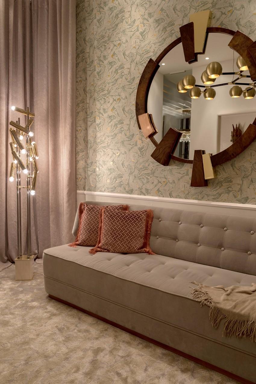 maison et objet 2019 Maison et Objet 2019: BRABBU Upholstery Fabrics in Paris George Sofa BRABBU