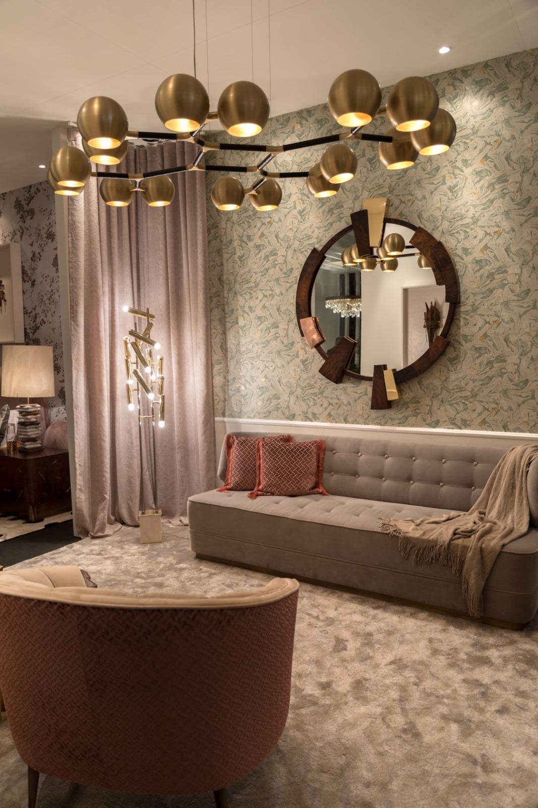 maison et objet 2019 Maison et Objet 2019: BRABBU Upholstery Fabrics in Paris George Sofa