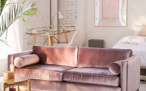 Upholstered Velvet Sofas to Rock your Living Room