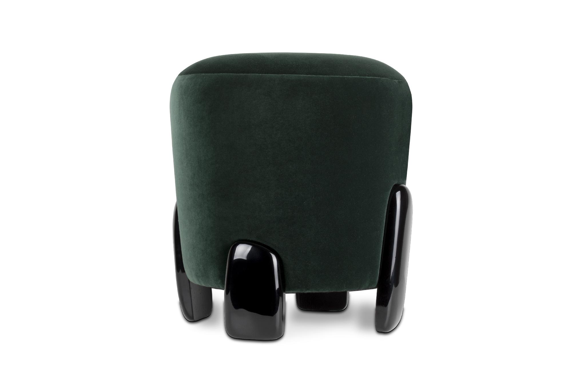 Modern Style Upholstered Fabrics by BRABBU NOAKI STOOL modern style Modern Style Upholstered Fabrics by BRABBU Modern Style Upholstered Fabrics by BRABBU NOAKI STOOL